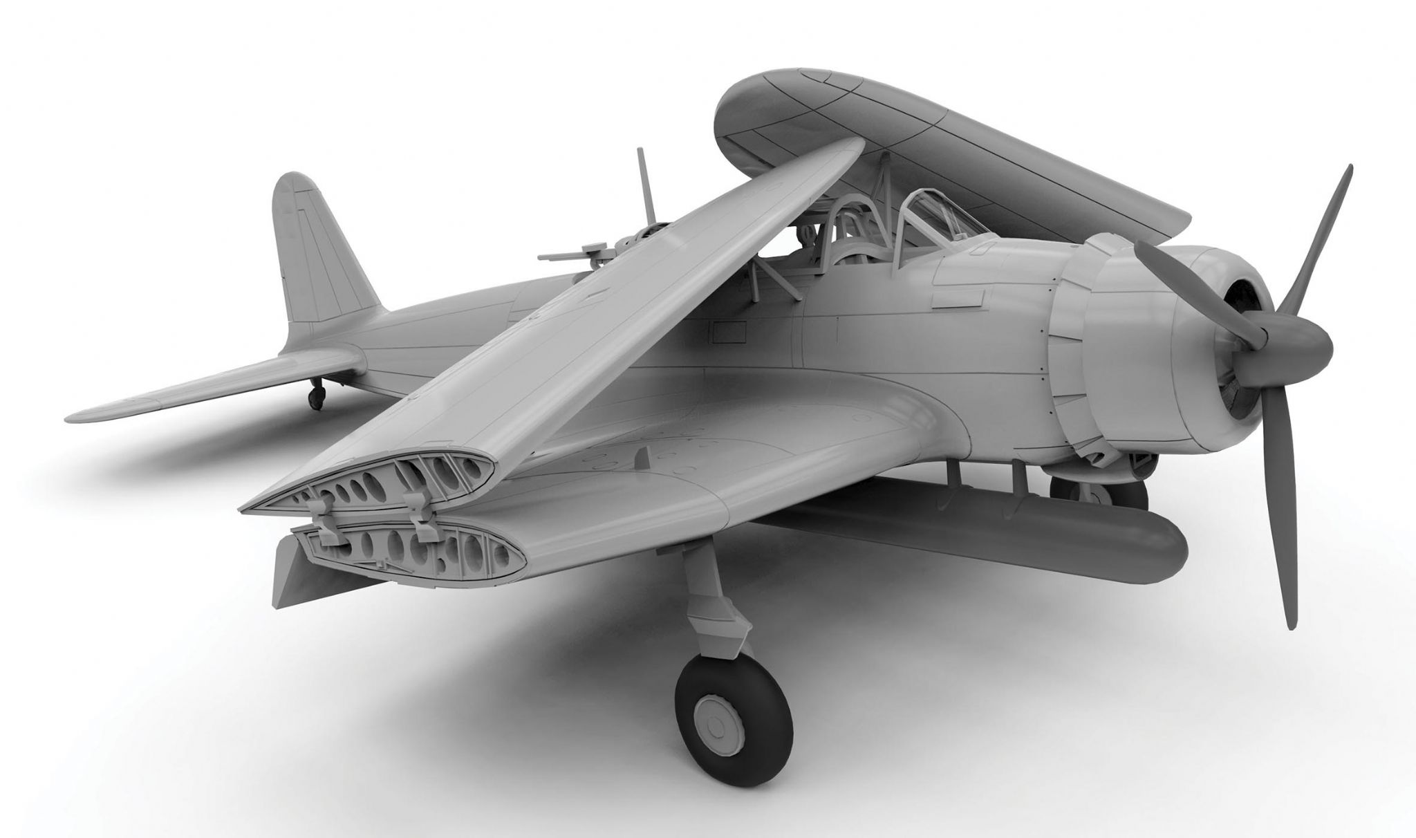 Airfix   Stuka Build